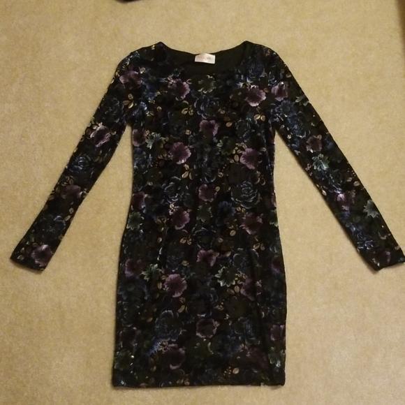 Moon Collection Dresses & Skirts - Velvet Fitted Dress
